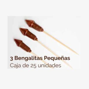 bengalitas de chocolate