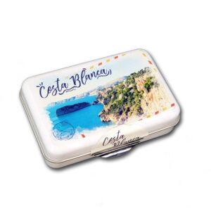 Caja souvenir Costa Blanca
