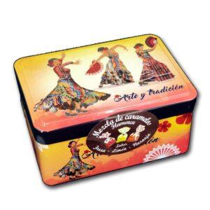 Caja bailarinas flamenco con caramelos