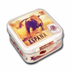 "Mini caja souvenir ""Toro España"""