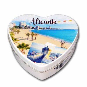 Caja Alicante souvenir corazón