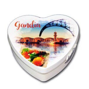 Caja souvenir Gandía Corazón