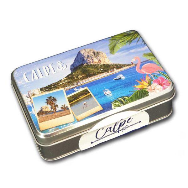 Caja metal Calpe