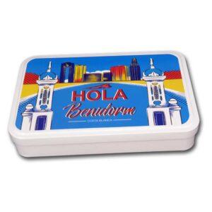 Caja Hola Benidorm souvenir