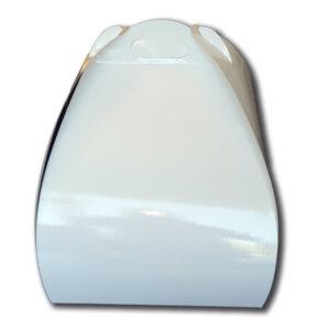 caja tulipa alta blanca