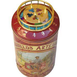 Caja barquillera con ruleta-2