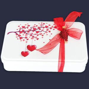 Caja metal san valentin