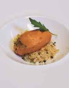 cremoso de gazpacho