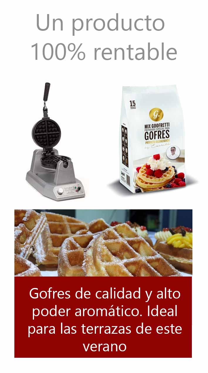 gofres waffles gofrera